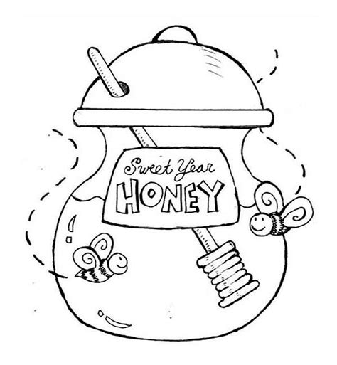 pooh honey jar clipart 49