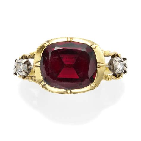 Overstockcom 50 An Antique Garnet Stunner Of A Necklace Is A Great Way To Rock Vintage Fashiontribes Fashion by 35 Best Images About Georgian Rings On Band