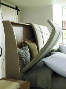 headboard storage idea for small spaces tiny house pins