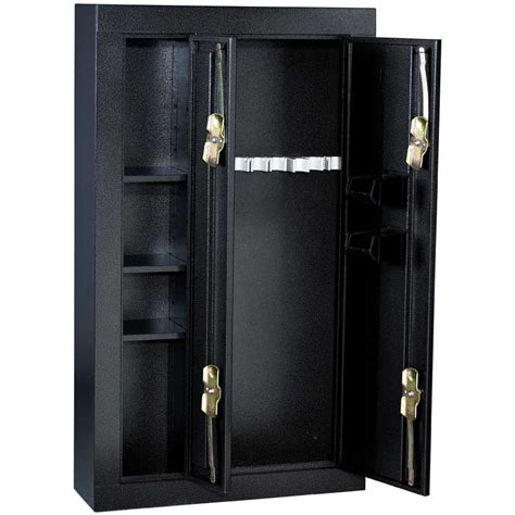 gun security cabinet reviews homak 8 gun double door steel security cabinet gshs30136028