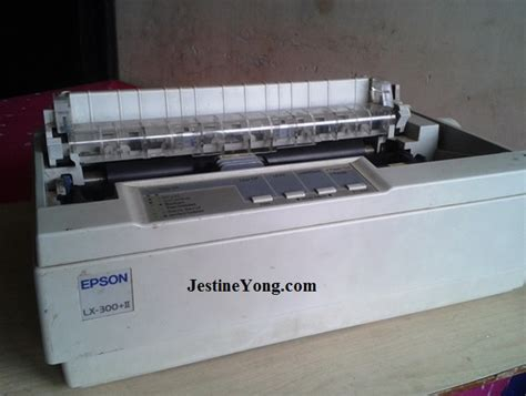 Power Suplay Printer Epson Lx300i epson lx 300 printer font selection not working repaired