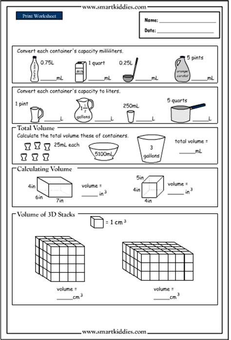 printable volume games converting and calculating volume mathematics skills