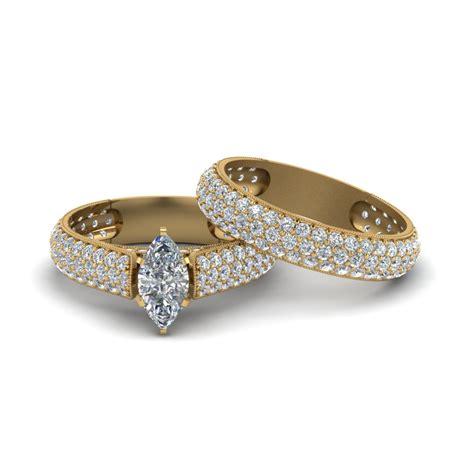ebay gold wedding rings set fashion jewelry