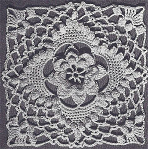 pattern making vcc vintage crochet pattern to make irish rose bedspread motif