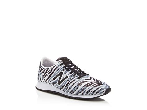 zebra print shoes for new balance 420 zebra print mesh low top sneakers lyst