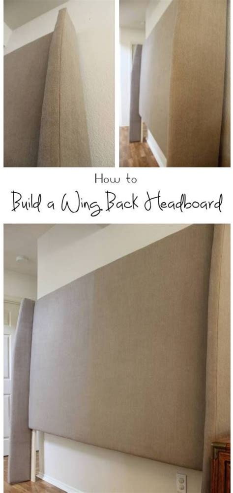 diy upholstered headboard with wings 25 best white headboard ideas on pinterest grey fur
