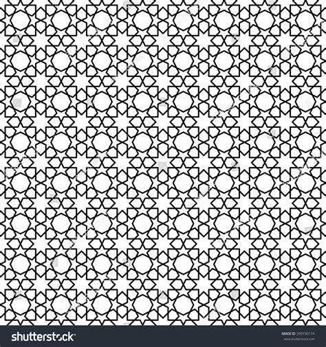 pattern with geometric motifs arabic geometric pattern geometric motifs seamless stock