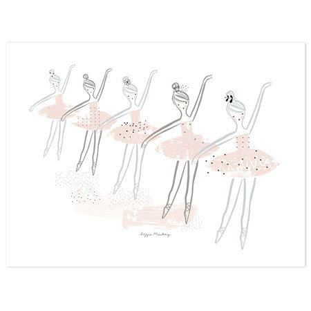 Garland Home Decor Ballerina Poster 30x40 Cm Bedroom Wall D 233 Cor
