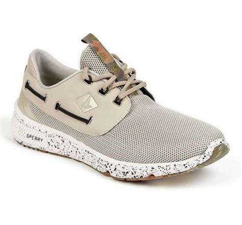 boat shoes size 14 sperry sts15539 7 seas 3 eye boat shoe camo white camo