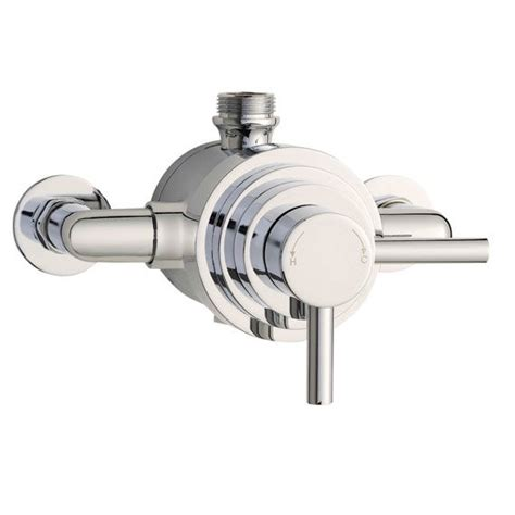 premier dual exposed thermostatic shower valve jty026