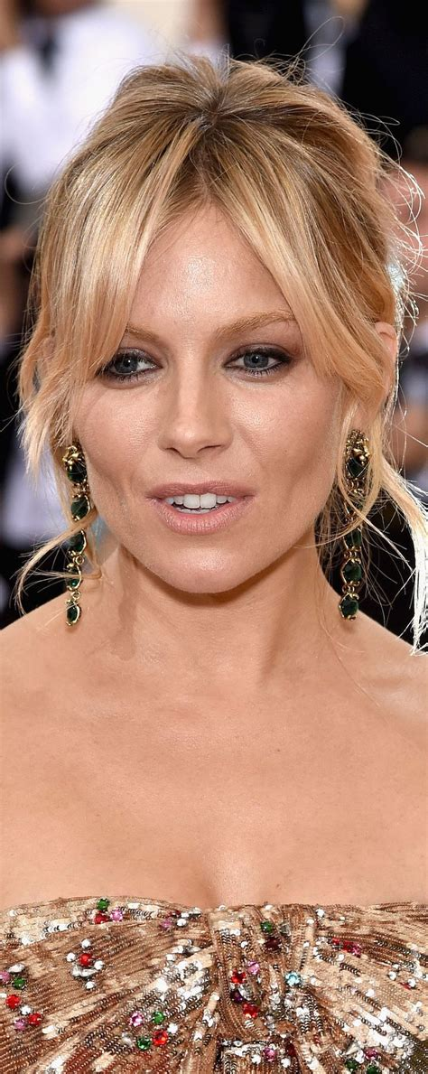 diana miller sienna miller met gala 2016 red carpet makeup hair