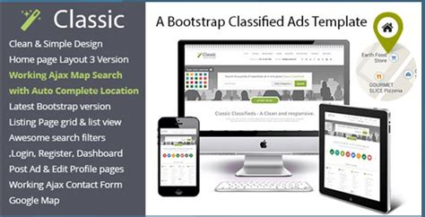 Latest 20 Best Responsive Bootstrap Themes Templates From Bootstrapbay Com Classified Ads Template