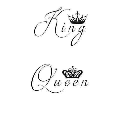tattoo font queen king typography calligraphy lettering