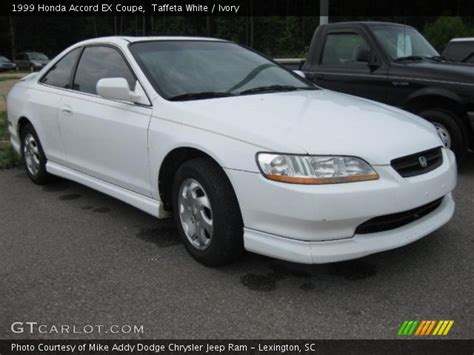 1999 honda accord ex coupe taffeta white 1999 honda accord ex coupe ivory
