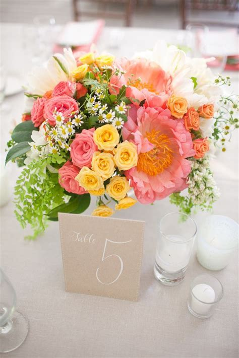 17 Best ideas about Pink Yellow Weddings on Pinterest