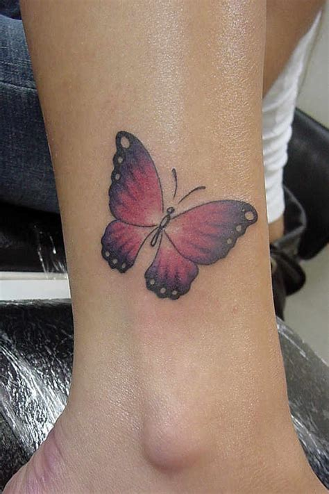 ankle tattoo pain 34 charming ankle butterfly tattoos and designs