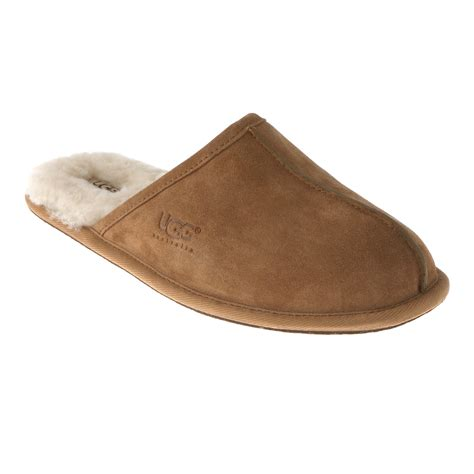 ugg house shoes for men mens uggs scuff slippers