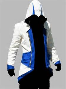 Design Exterior Of Home Online Free by Assassin S Creed Connor Kenway Blue And White Hoodie