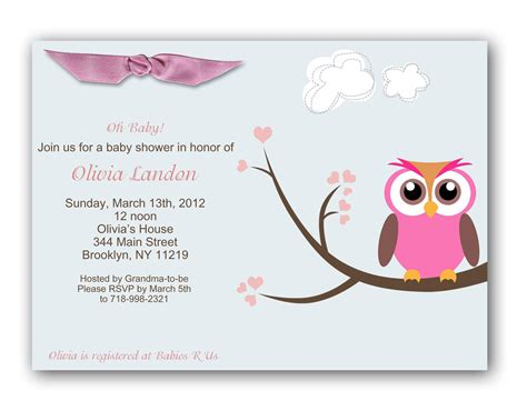 templates for shower invitations baby shower invitation baby shower invitations templates