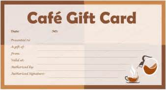 gift card template word cafe gift card template for microsoft 174 word