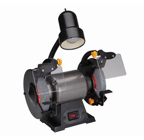 bench grinder light junkyardfind com 6 in bench grinder with light