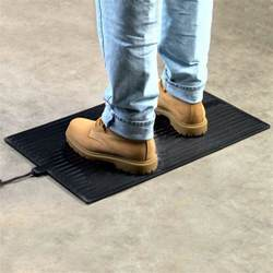 Heated Floor Mats Winter Warmth Heated Floor Mats Anti Fatigue Anti Slip