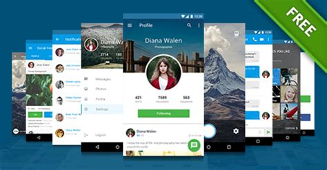 mobile app design templates free mobile application design template free psd files