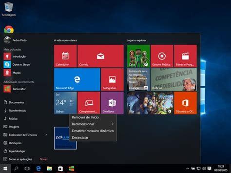 windows 10 tiles tutorial tutorial windows 10 como criar facilmente tiles
