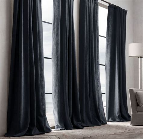 Black And Drapes 25 Best Ideas About Black Curtains On