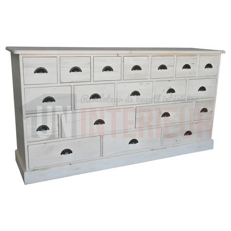 commode mercerie acheter meuble mercerie 19 tiroirs pin massif
