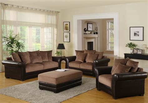 And Brown Living Room Furniture by Home Design Brown Living Room Ideas