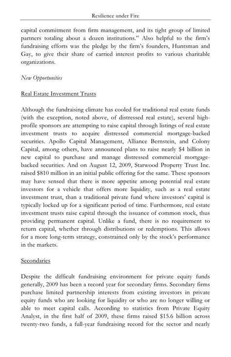 Commitment Letter Equity Raising Capital For Equity Funds