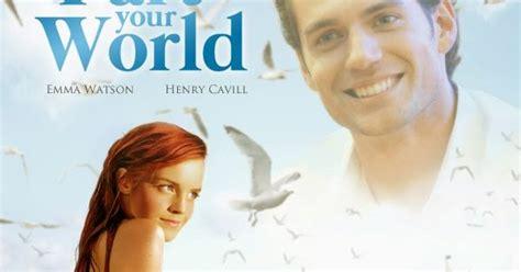 little mermaid film emma watson quot disney princess celebrities emma watson as ariel and