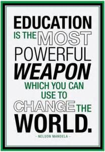 Custom Wall Stickers Words education nelson mandela quote prints at allposters com