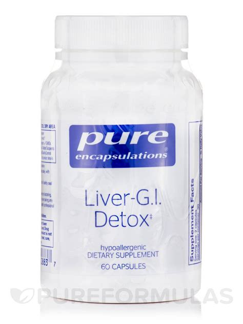 How To Use Gi Detox by Liver G I Detox 60 Capsules