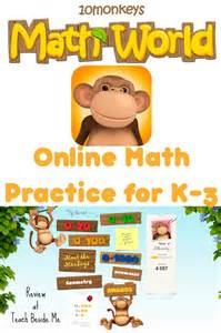 online math practice with 10 monkeys math world teach