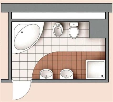 Modern Bathroom Design Layout Personalized Modern Bathroom Design Created By Ergonomic