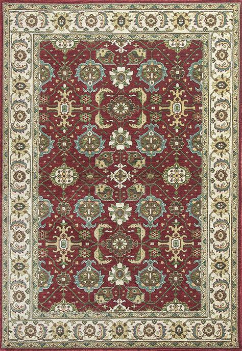 Kas Shiraz 5007 Red Ivory Mahal Rug Shiraz Rug