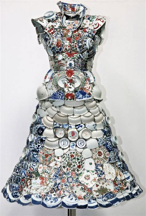 Porceline Dress made in china porcelain costumes by li xiaofeng