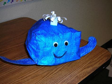 Paper Bag Whale Craft - 10 best images about paper bag crafts on