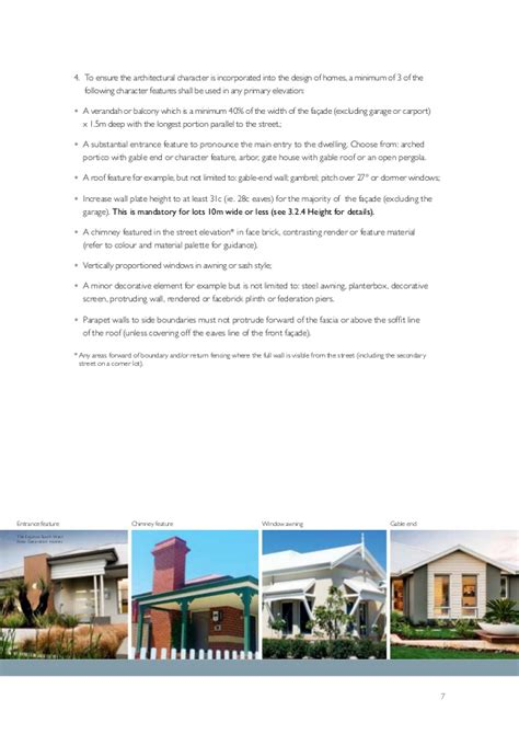 design guidelines perry lakes equis lake design guidelines brochure