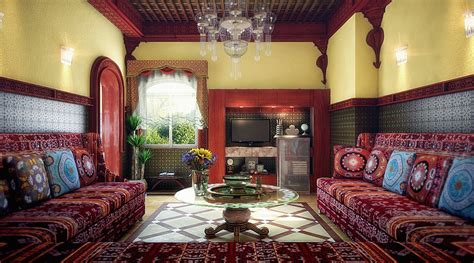 Moroccan Themed Living Room by How To Decorate Moroccan Living Room
