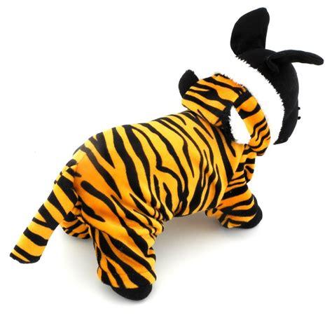 puppy apparel esingyo pet puppy apparel small cat clothes warm fleece tiger