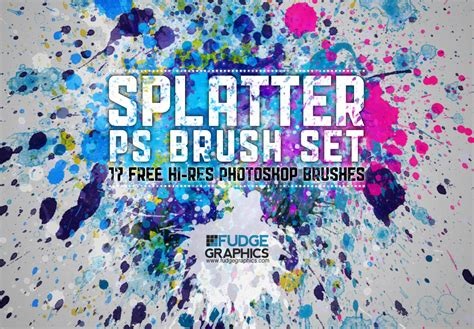 Quality Tool Set By Istanatoys Net hi res splatter ps brush set by fudgegraphics on deviantart