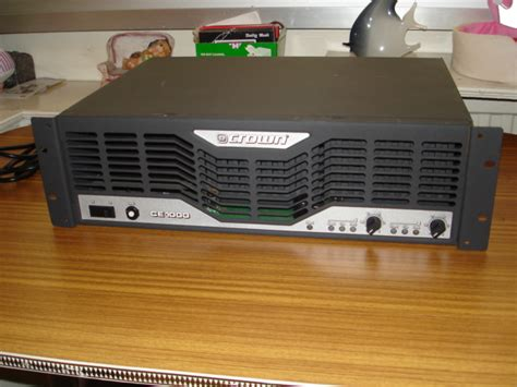 Power Lifier Crown Ce 1000 crown ce 1000 wikizic