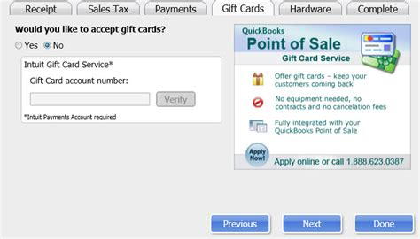 Intuit Gift Card Merchant Services - custom gift card program intuit quickbooks point of sale gift card service