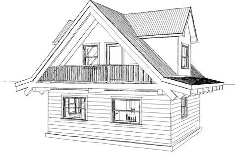 sketch house plans modern house