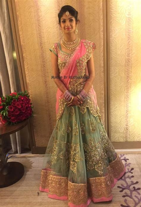 indian hairstyles with lehenga indian bride akshata wears bridal lehenga and jewellery