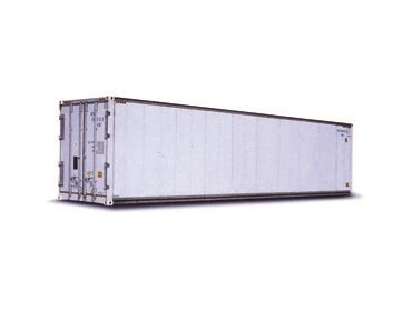 cube aluminum refrigerated container express freight international