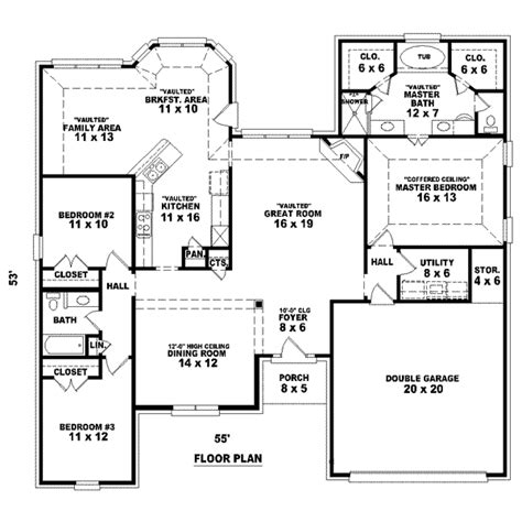 2 house blueprints house 26461 blueprint details floor plans